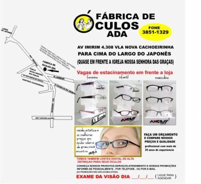 c3cd5f5fdabcd OTICA NA VILA NOVA CACHOEIRINHA - Guis - Anúncio de Empresas e ...