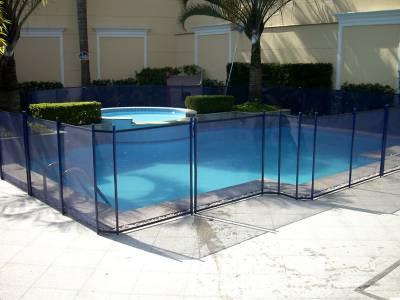 cerca para piscinas