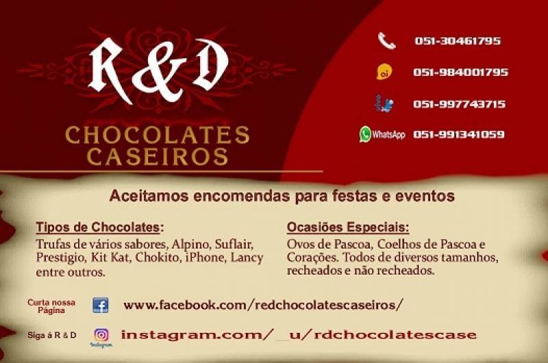 ReD Chocolates Caseiros
